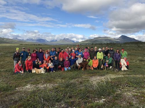 De frivillige i Monsen-gjengen i indre Troms, sommeren 2018