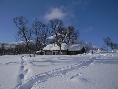 Vintertur til hyttene våre
