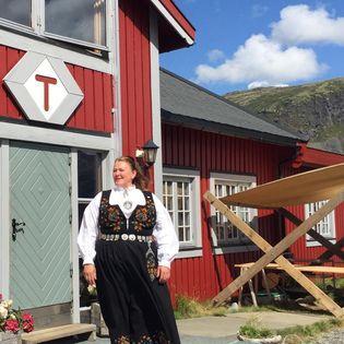 Solbjørg på Fondsbu