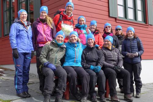 Grunnleggende turlederkurs på Olalia 2017