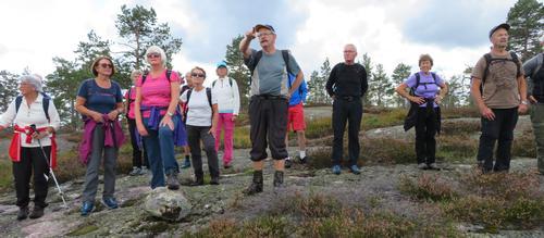 Frå onsdagstur til Risfjell i Gjerstad 02.09.20