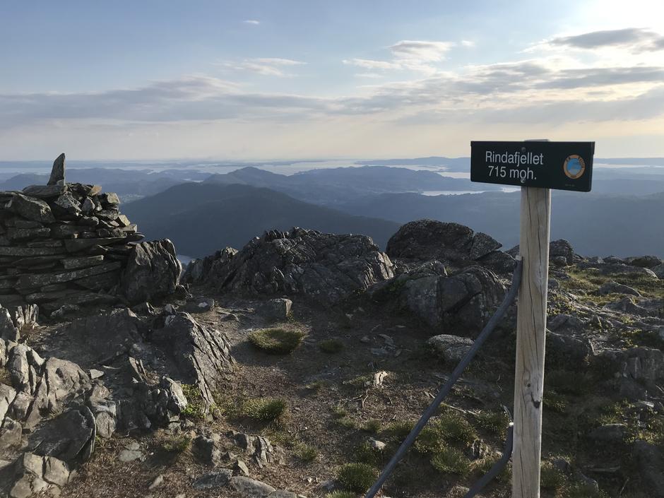 Torsdag 3.6: Rindafjellet