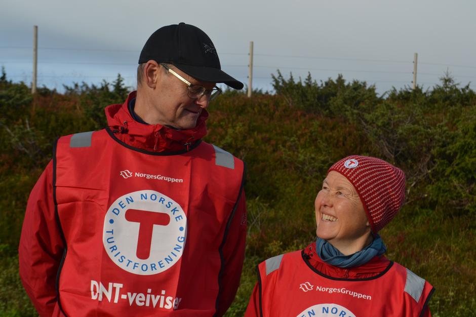 Ingunn Høyvik og Lars Jenssen i spissen for de frivillige