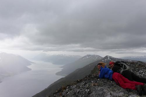 Utsikt frå Midtfjell