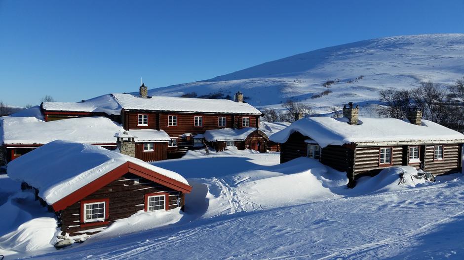 Bjørnhollia den 18. februar 2018.