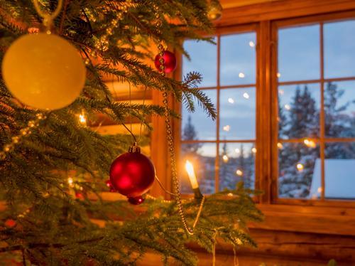 Ta jul- eller nyttårsfeiring på en hytte!