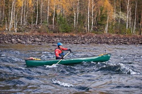 Kano på elven