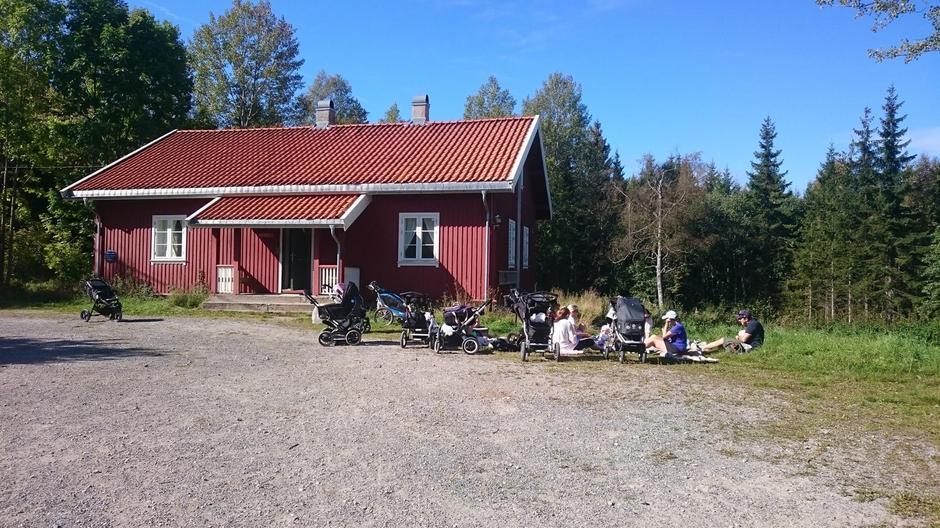 Trilletur og piknik ved Nedre Gupu.