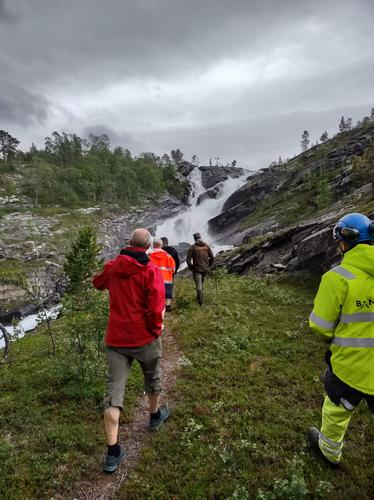 Omlegging av rute ved Kjemåga stasjon
