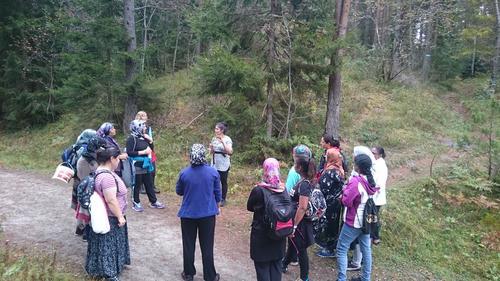 Turgruppe for kvinner