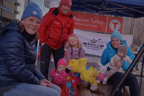 Bærum Turlag deltar på Byfesten i Sandvika