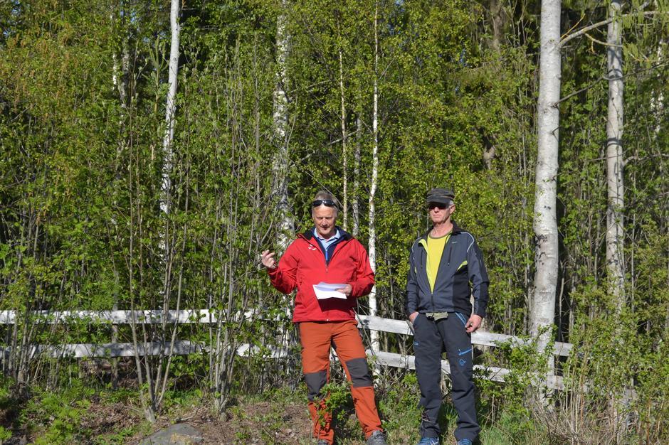 Turlederne Jan Erik Mæhlum og Bjørn Dalsveen