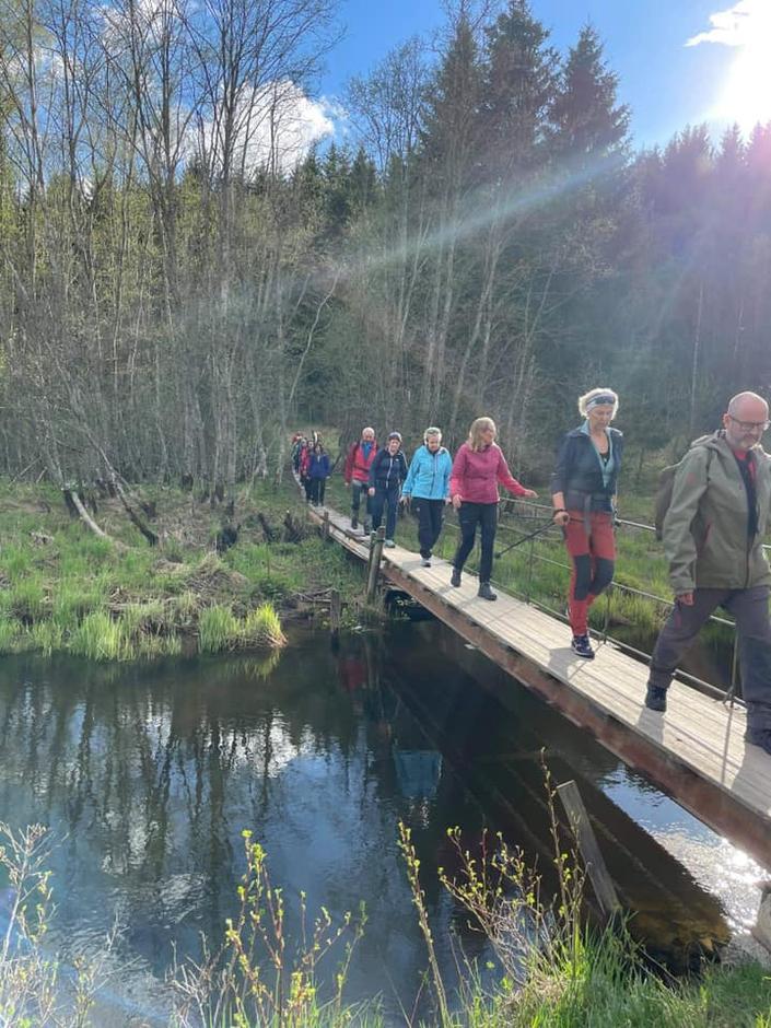 Nærturer med Lørenskog Turlag er populært