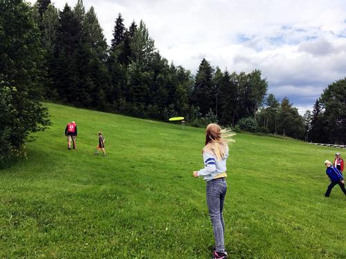 Aktivitetskveld på Landaasen, barnas turlag, 29. juni 2016