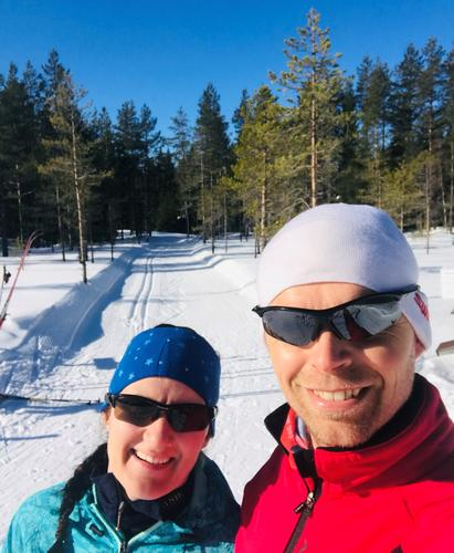 Skitur ved Damtjernet