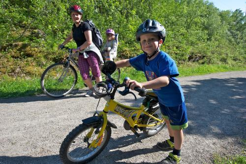 Sykkeltur - foto Trond Danielsen