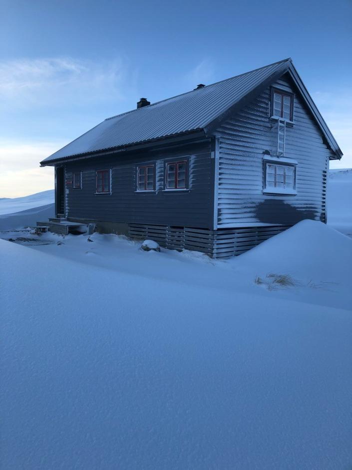 Fredag 10.1: Vending i Bergsdalen. Fint skiføre. Håper det varer..