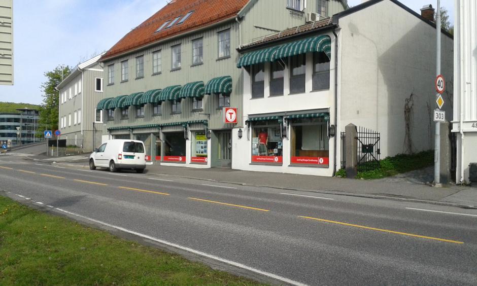 LOTs kontor og turbutikk i Storgata 25.