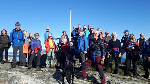 Tur til Spjeldsfjellet med Onsdasgruppa
