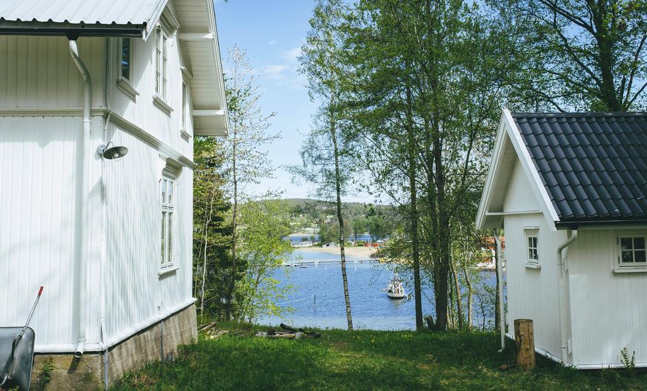 Vesle Killingen i Oslofjorden (Sande).