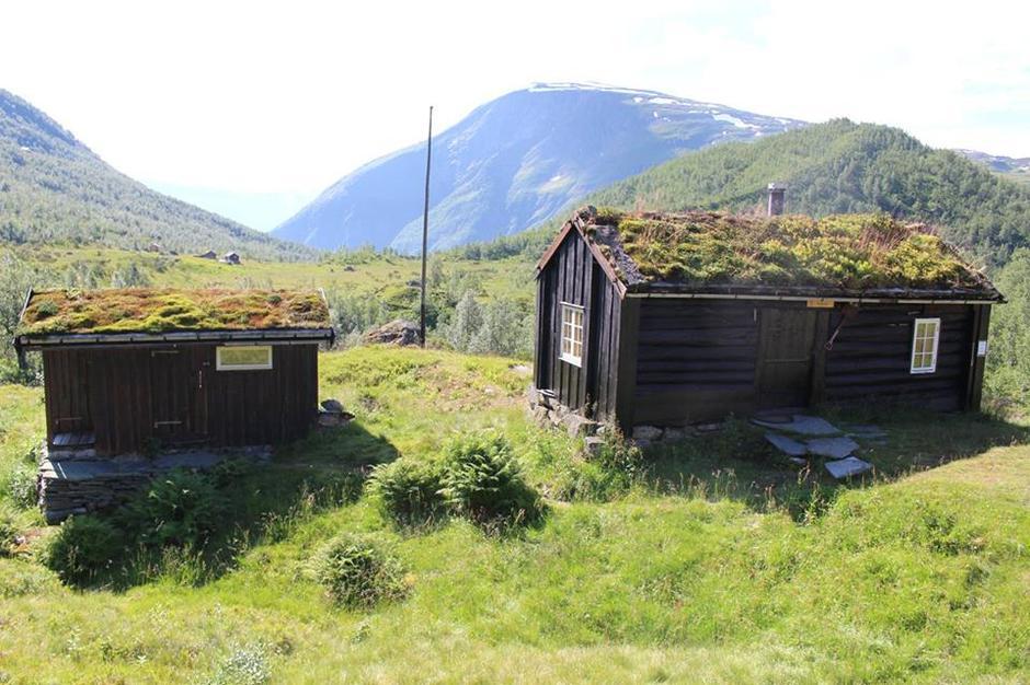 Hans Vigdal si gamle hytte på Sagavollen, no sjølvbetjent hytte i DNT-systemet.
