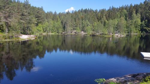 Tur til Kjøsterudjuvet i Drammen
