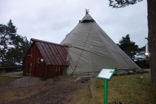 Lavvoen på Odderøya