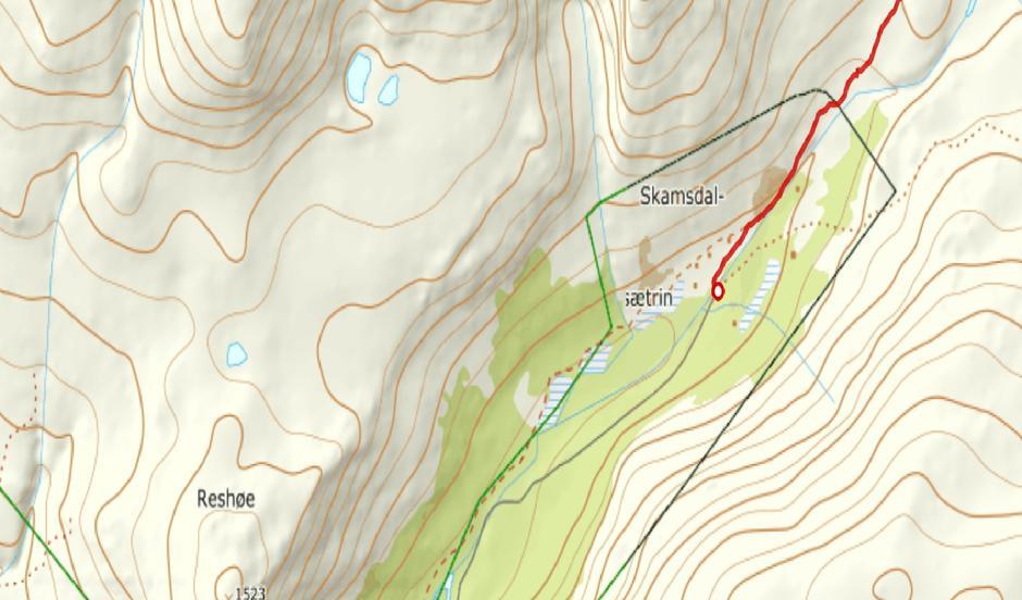 Skamsdalen (fra Ut.no)