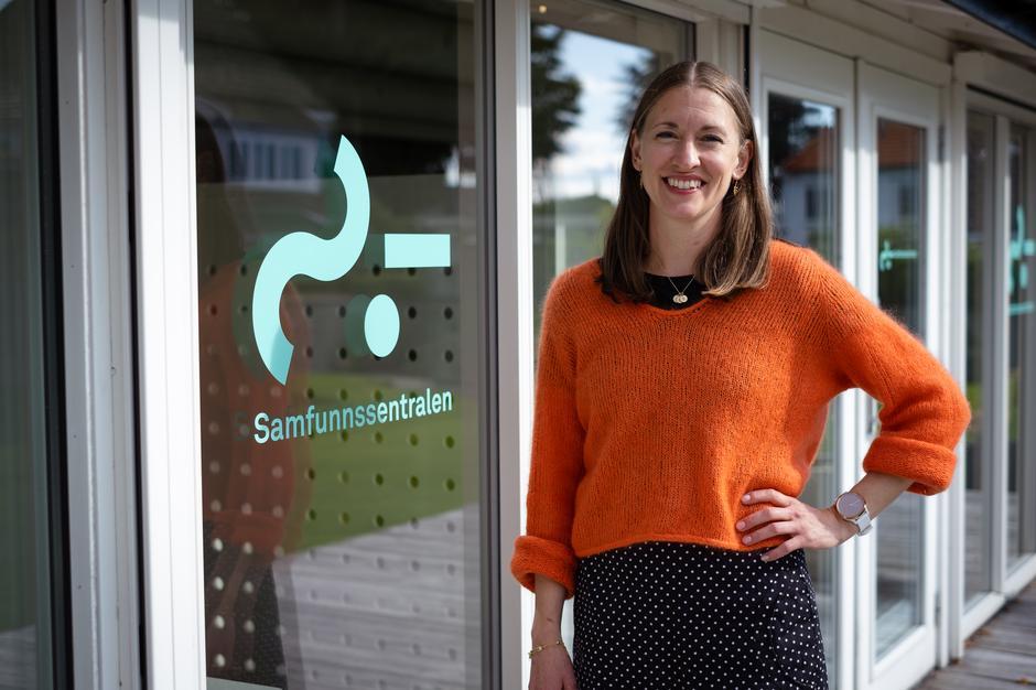 SOSIALE ENTREPRENØRER: Leder Anja Moen Hareim i Samfunnssentralen gleder seg til å samarbeide med Stavanger Turistforening.
