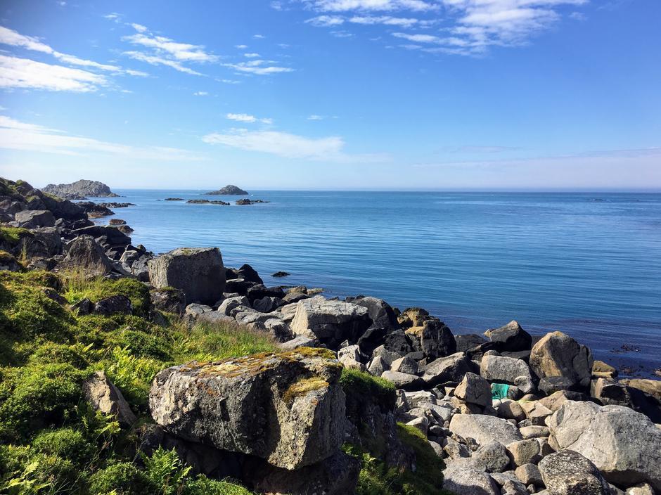 Utsikt fra øya