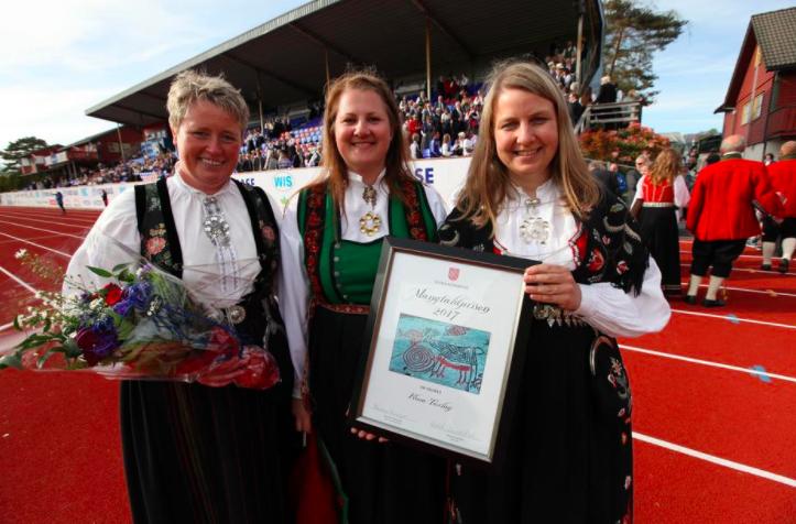 Flora Turlag vart i 2017 tildelt Mangfaldsprisen frå Flora kommune.