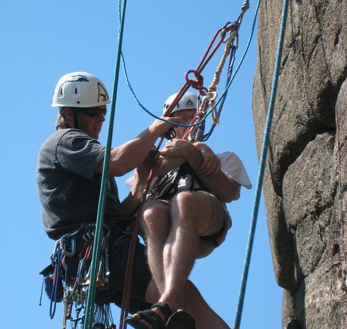 Metoder for kameratredning er en sentral del av metodekurs klatring.