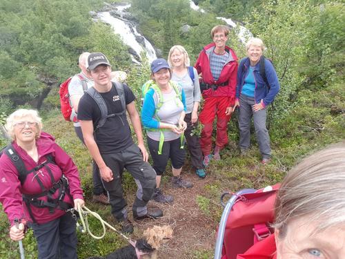 29. juli var det Onsdagssnerten til Sputrefossen og Tjørobytta