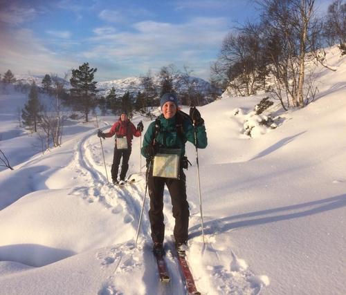 skitur til storenuten og Vardane i Samnanger