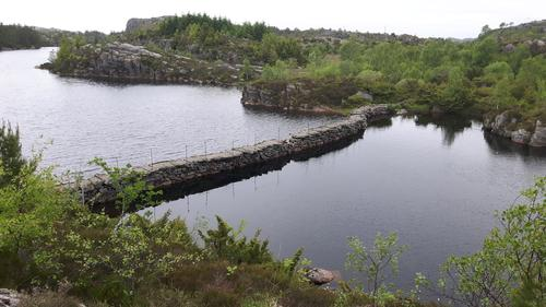 Brua i Storavatnet