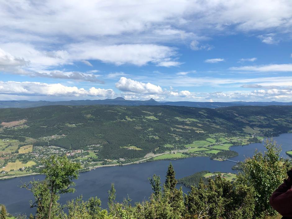Utsikt fra Olberg