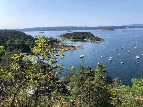 Utsikt på Malmøya.