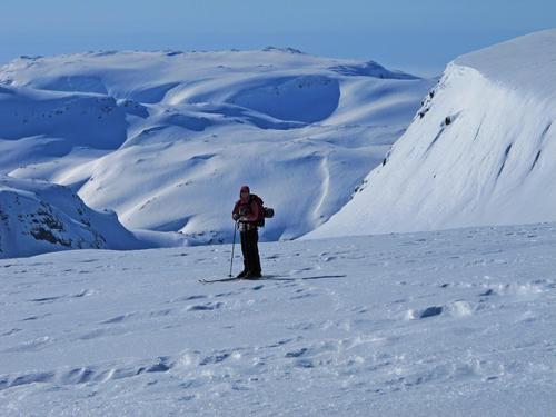 Skitur på Fresvikbreen