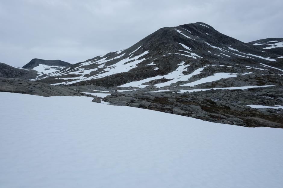 Fra fremste Småkoppvatnet mot Storløypet