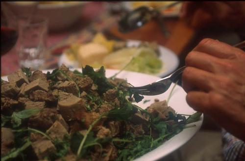 Lokal mat på Iungsdalshytta