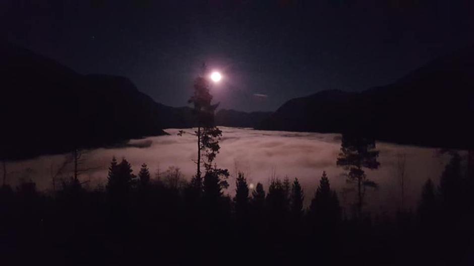 23.11.2018 - Måneskinstur til Langhaugen