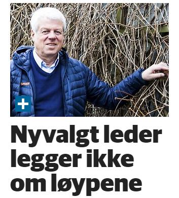 Styreleder Ola Leinæs i ØP