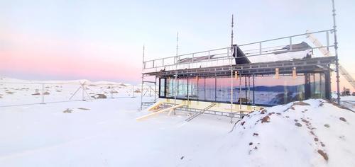 Flye1389 – ny DNT-hytte på Norges tak