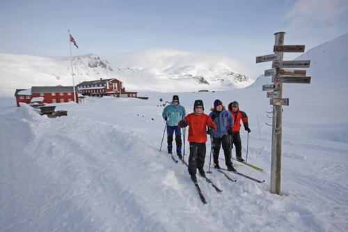 Vinterferie på Fondsbu