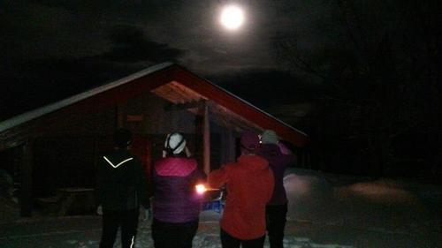 Måneskinn på Skallberget