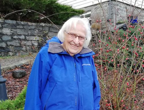 Meldte seg inn i Turlaget i en alder av 92½ år