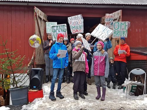 Miljø- og aktivitetsdag på Holmarka
