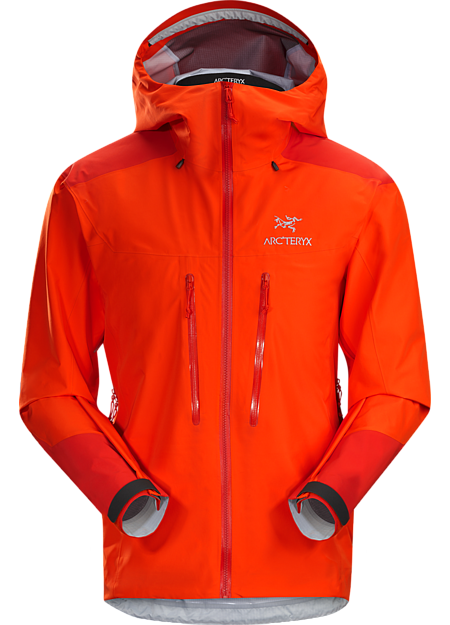 Alpha AR jakke: Allsidig GORE-TEX Pro-jakke som fungerer i mange forskjellige alpine forhold.
