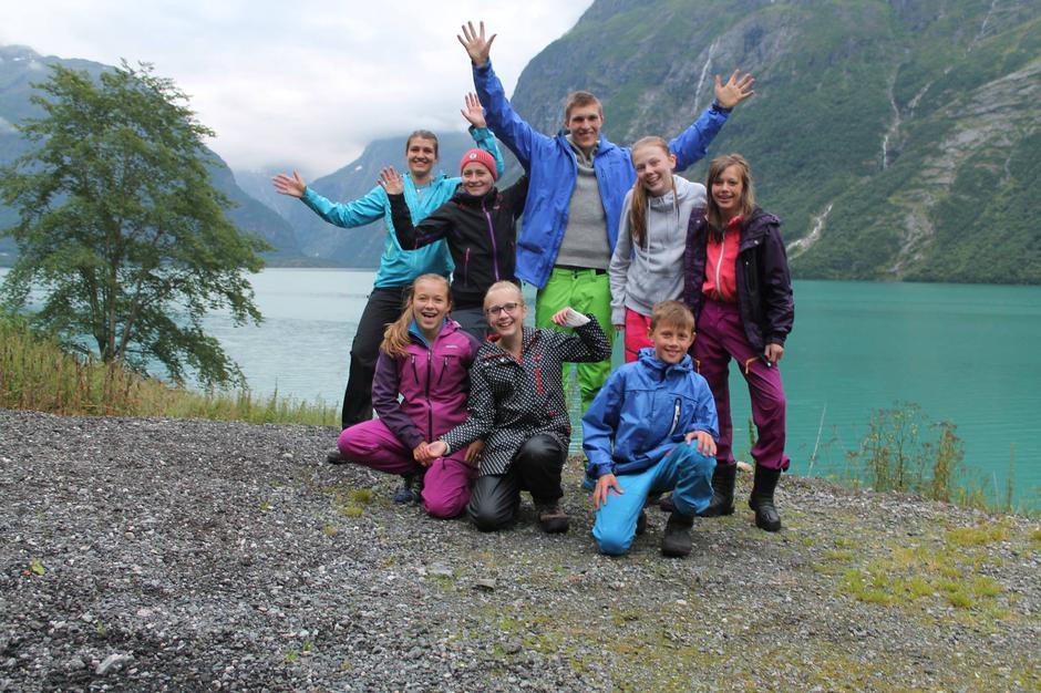 06.08.2016 Kano(n)tur i Lodalen! Kjempekjekk kveld med padling, fisking, pizza på bål og bading (for dei tøffaste) i Lodalen. Vi var totalt 14 stk. og alle storkosa seg!