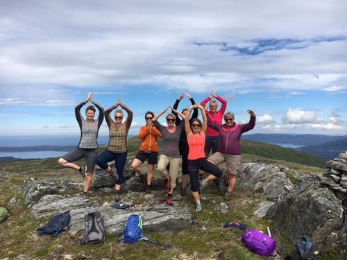 Yoga og fjelltur til Nersetra i Aure.
